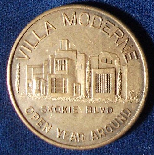 Villa Moderne Good For Half Dollar, Niles Center, Illinois