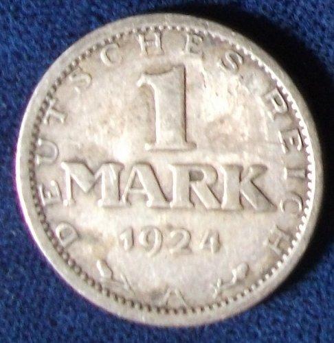 1924A Germany/Weimar Mark Fine