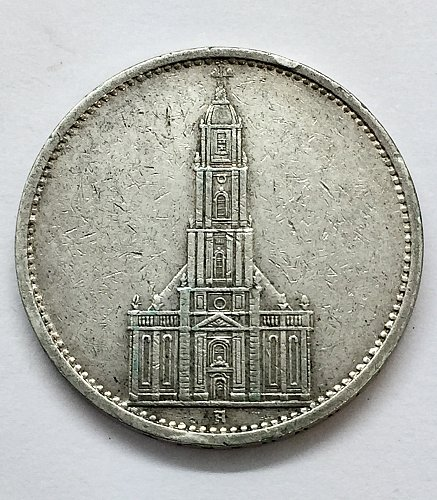 1935 A 5 Marks - Germany - First Anniversary of Nazi Rule