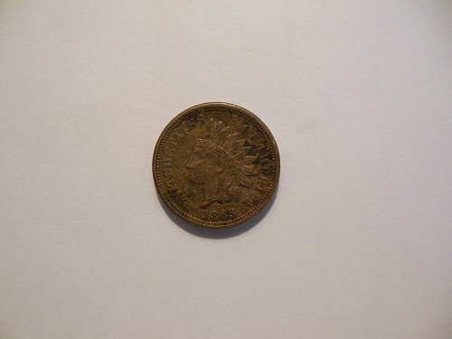 1863 CN Indian Head Penny