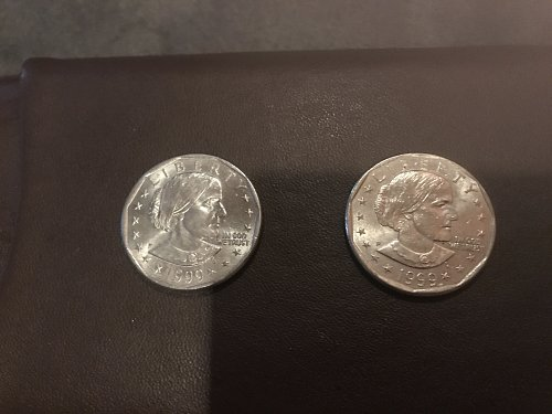 Susan b Anthony lot of 2