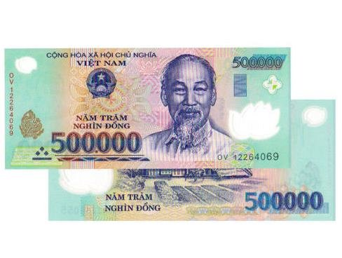 1 000 Vietnam Dong 2x 500 Bank Note Vietnamese Currency Uncirculated