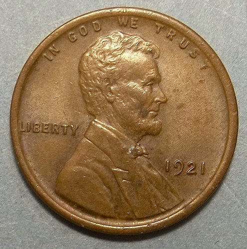1921P Lincoln Wheat Penny Lot PWH3x