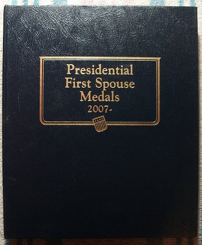 Whitman Classic Presidential First Spouse Medals Album