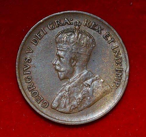 CANADA 1 cent 1935