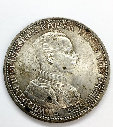 1914 A 5 Marks - Prussia