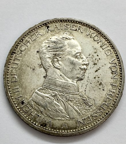 1914 A 3 Marks - Prussia - Germany Empire
