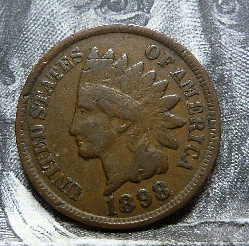 Here is an 1898 Indian Cent Fine (  2025 )