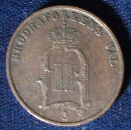 1886 Sweden 2 Ore VF