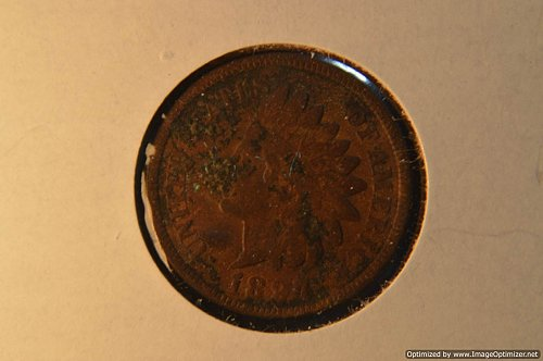 1897 P INDIAN HEAD PENNY