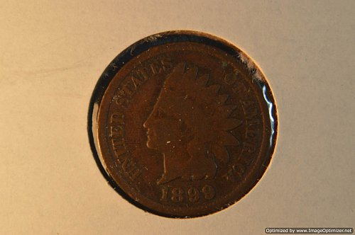 1899 P INDIAN HEAD PENNY
