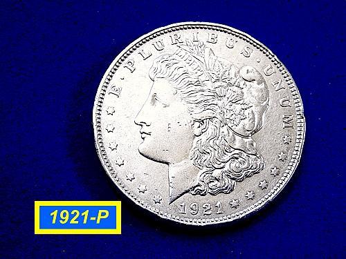 "1921 Morgan Silver Dollar ☆ ""Circulated"" ☆ (#5440)b"