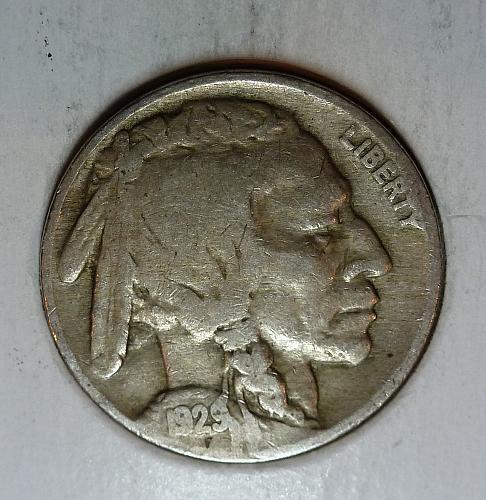 1929 P Very Good Buffalo Head Nickel  ( 9042 )