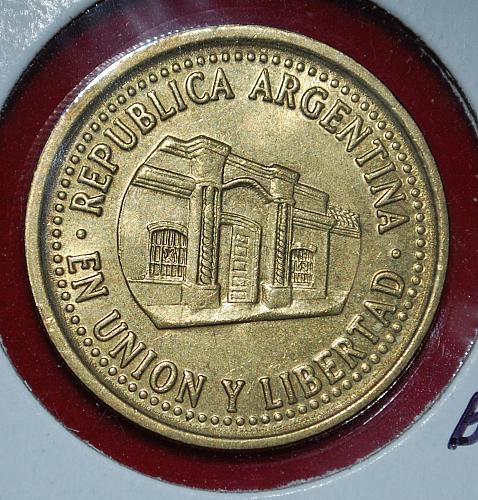 ARGENTINA 50 CENTAVOS 1993