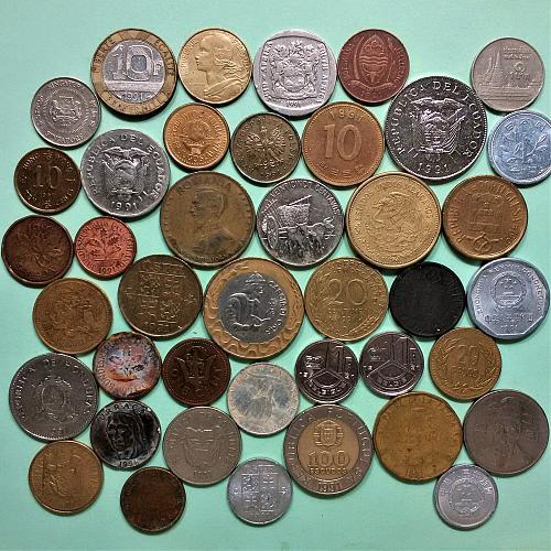 1991 Birth Year Batch (41 different coins)