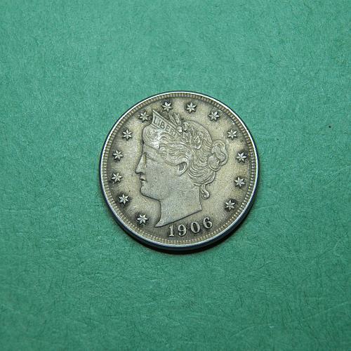 1906 Liberty V Nickel Extra Fine Coin   p41