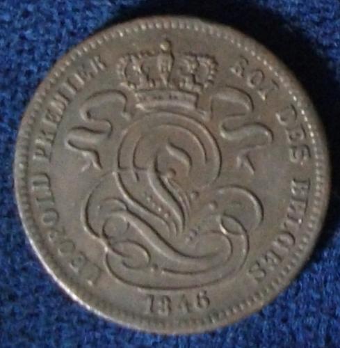 1846 Belgium Centime VF++