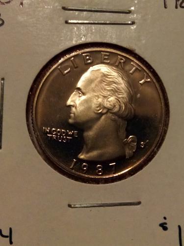 Proof quarter