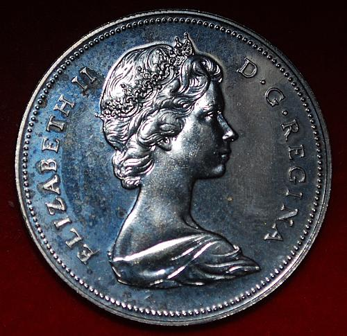 Canada 50 Cents 1972