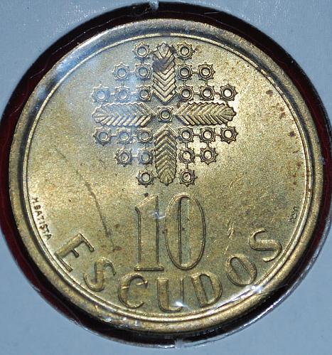Portugal 10 escudos 1987