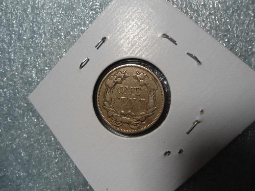 1857  Flying Eagle Cent.