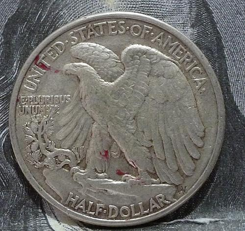 1941 P Walking Liberty Half Dollar in About Uncirculated Grade ( 6018 )