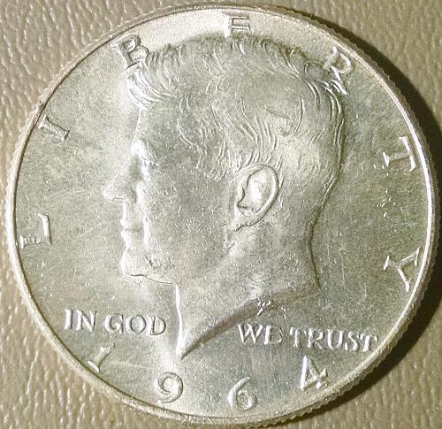 1964 D Kennedy Half Dollars