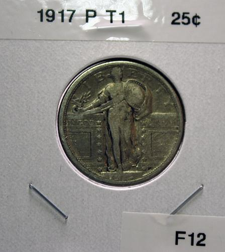 1917 P Type 1 Standing Liberty Quarter