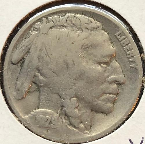 1929 P Buffalo Nickels