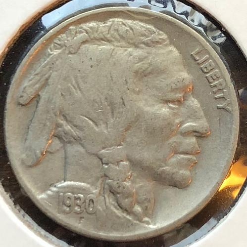 1930 P Buffalo Nickels