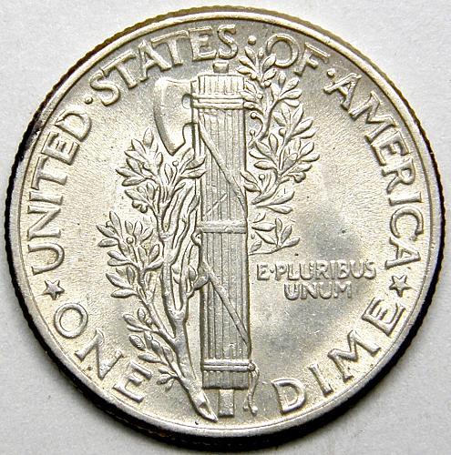 1944 P Mercury Dime #3