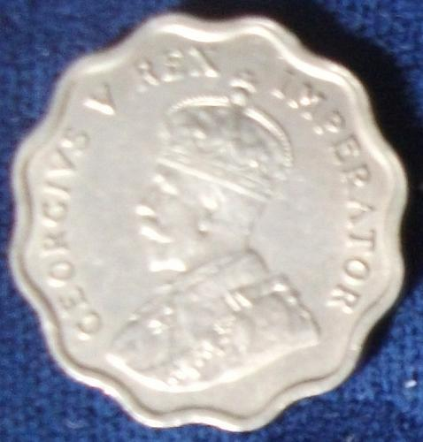 1934 Cyprus Half Piastre XF