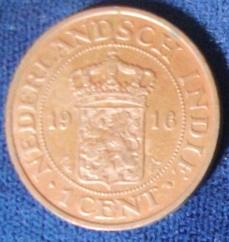 1916 Netherlands East Indies XF