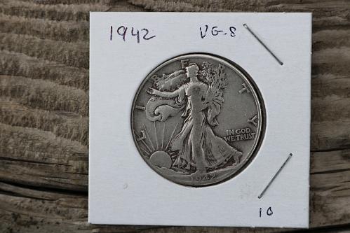 1942p walking Liberty  nice coin