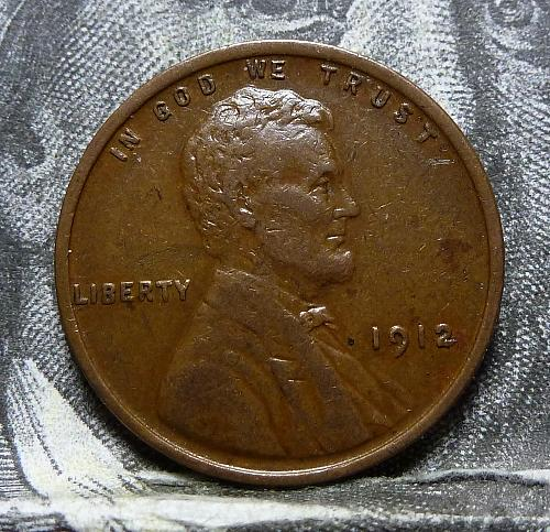Here is a 1912 P XF Lincoln Wheat Cent  Grade Extra Fine ( 4008 )