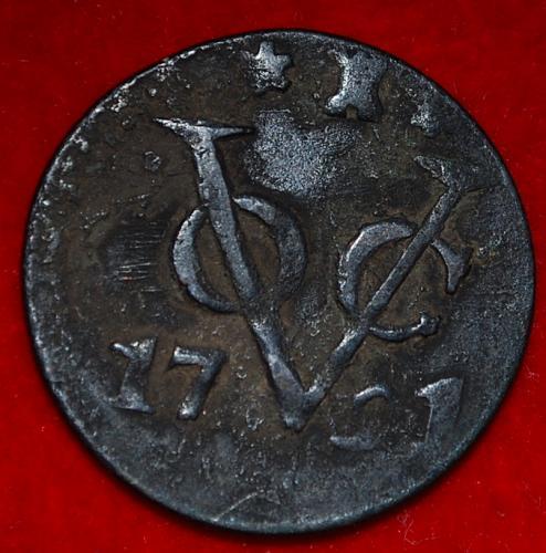 NETHERLANDS EAST INDIES Duit  1791 Zeeland