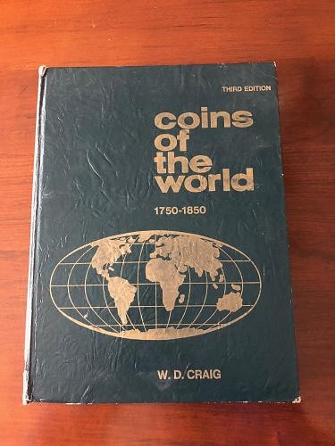 Coins Of The World by: W.D. Craig Third Edition
