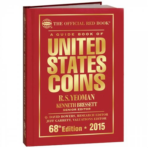 2015 Official Red Book Of United States Coins 68th Edition