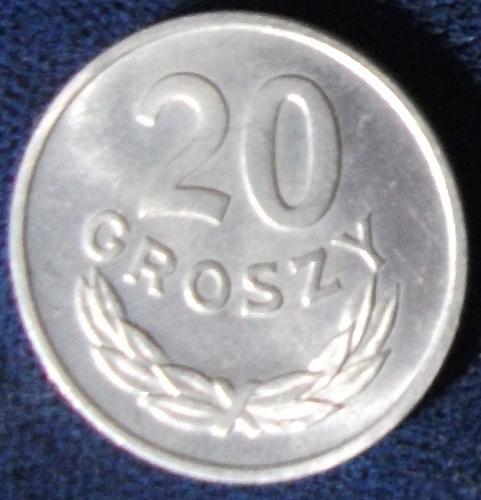 1949 Poland 20 Groszy MS63