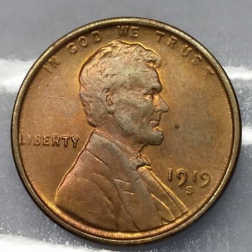 1919-S Lincoln Cent
