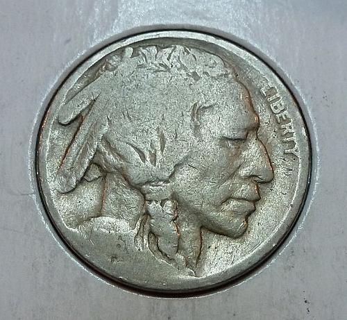 1916 P Buffalo Nickel ( 9103 )