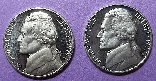 2 Jefferson Nickels Lot NJf2