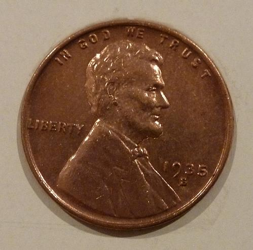 1935 S Gem BU RED Lincoln Wheat Cent ( 1902)