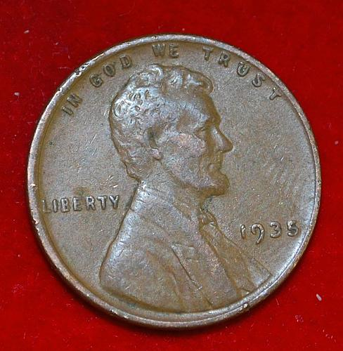 1935 P Lincoln Wheat Cent Small Cents