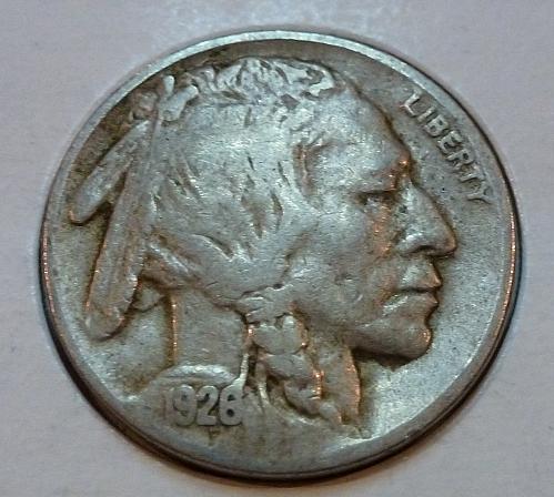 1926 P Very Fine Grade Buffalo Nickel  ( 4161 )