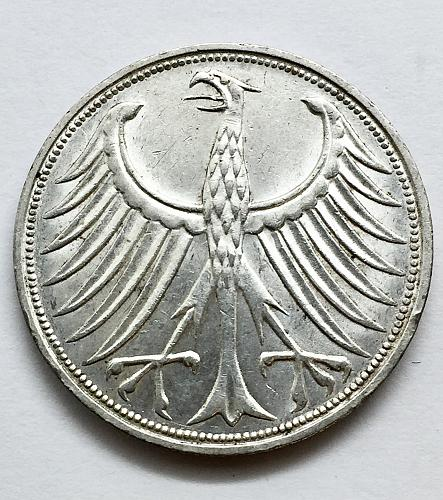 1966 F  5 Marks Germany