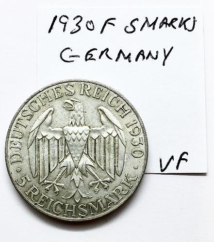 1930 F  5 Marks Germany - Flight of the Graf Zeppelin