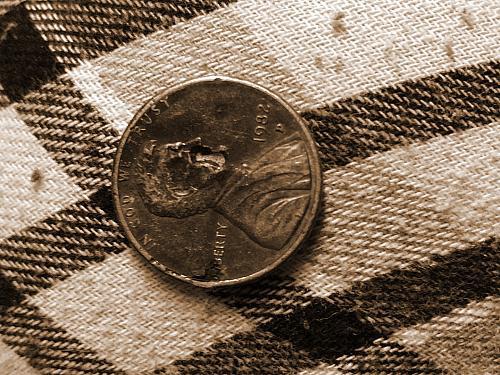 1982 D small date zinc