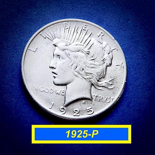 """1925 PEACE Dollar  ☆ """"XF-45""""    ☆   (#5591)a"""