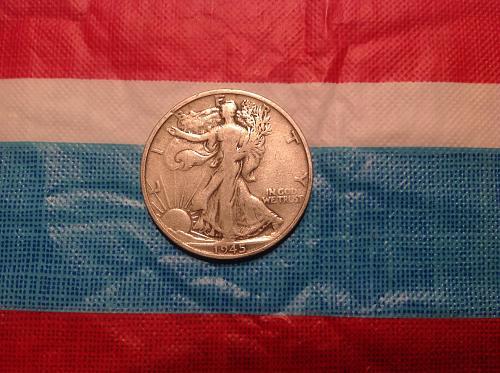 '45 San Fran Mint half dollar